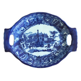 18th C. English Ironstone Platter For Sale
