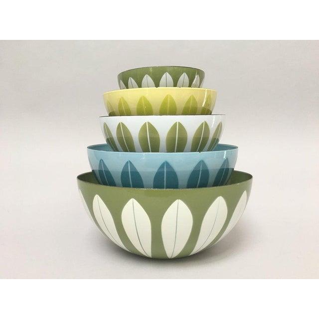 Cathrineholm Scandinavian Modern Enamel Nesting Bowls - Set of 5 For Sale - Image 11 of 11
