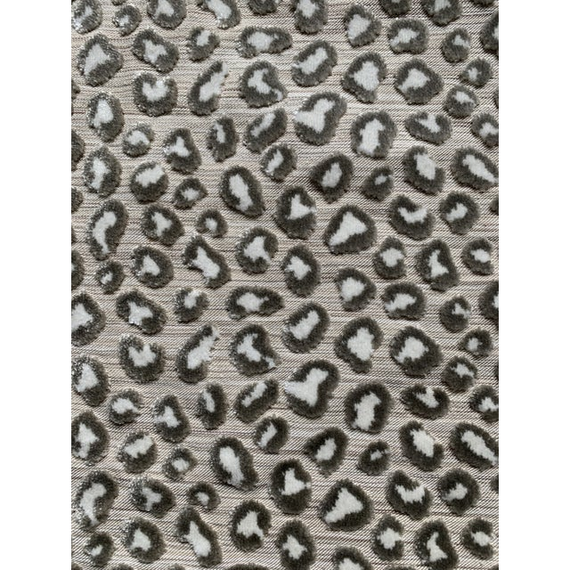 1 Yard Colefax and Fowler Wilde Leopard Velvet Fabric For Sale - Image 9 of 9