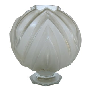 French Art Deco Sabino Art Glass Vase