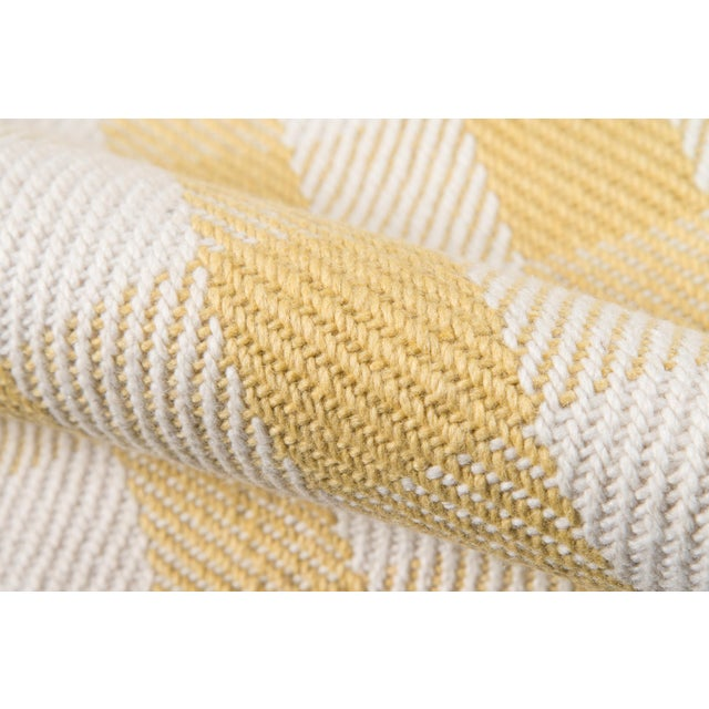 """Madcap Cottage Highland Fling a Scotch Please Gold Area Rug 7'9"""" X 9'9"""" For Sale - Image 4 of 8"""