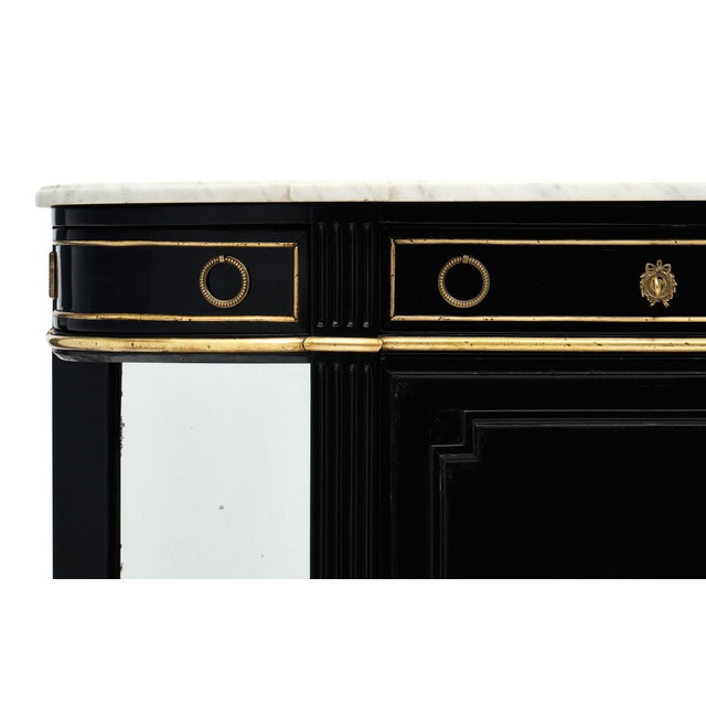 French French Antique Louis XVI Style Credenza For Sale - Image 3 of 10