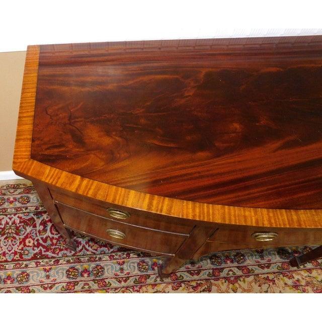 Landstrom Sheraton Style Banded Mahogany Sideboard - Image 5 of 6