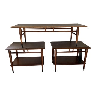 1950s Mid-Century Modern Coffee & End Tables - Set of 3 For Sale