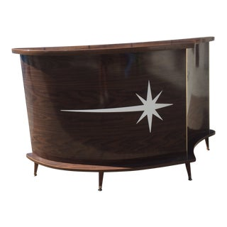 1960s Vintage Cosmic Star Bar For Sale