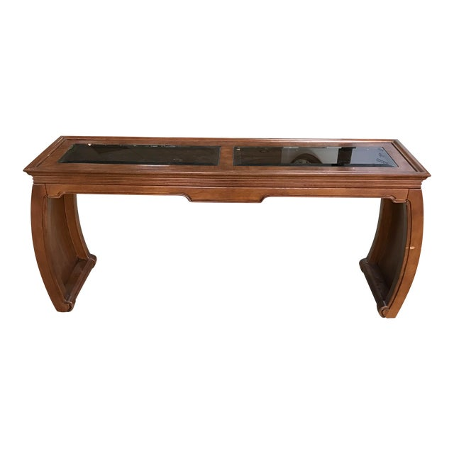 Chinoiserie Asian Style Console Table - Image 1 of 6