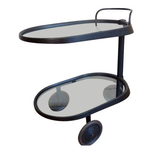 1980s Mid Century Modern Enzo Mari for Alessi Bar/Tea Cart For Sale