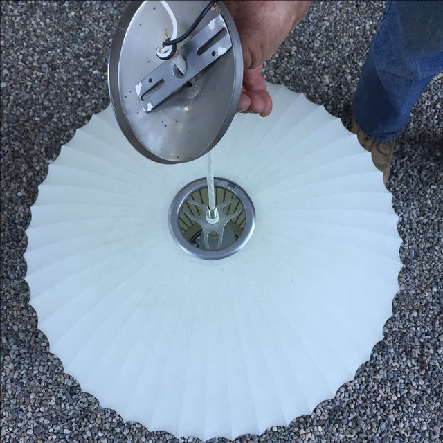 George Nelson Saucer Bubble Pendant Lamp - Image 6 of 7