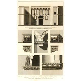 Diocletian's Palace, C. 1790, Engraving For Sale