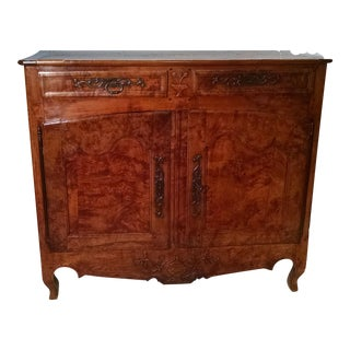 Antique French Walnut Sideboard For Sale