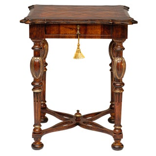 Italian Sansovino Lamp Table For Sale