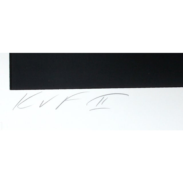 Contemporary Robert Indiana, Hartley Elegies: KvF II Serigraph For Sale - Image 3 of 3
