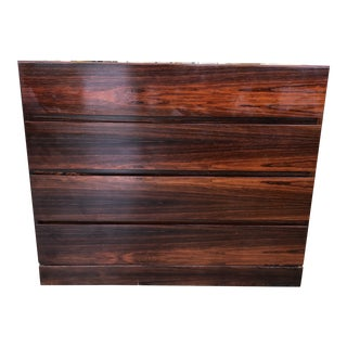 1960s Danish Four Drawer Rosewood Dresser For Sale