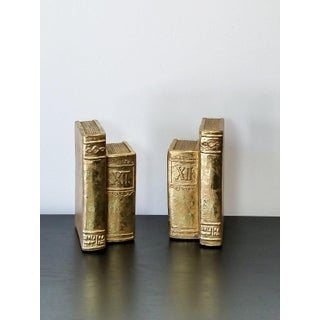 Gold-Leaf Books Bookends - a Pair Preview