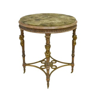 French Neoclassical Gueridon Center Table For Sale