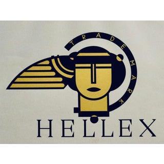 1923 Original German Poster, Hellex (Mythological Trademark Art) For Sale