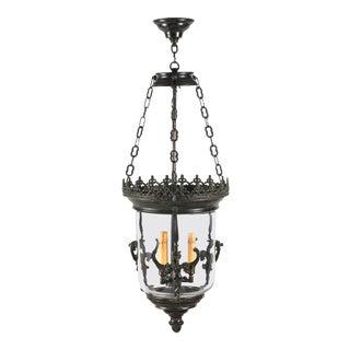 Lantern/Pendant Light, Bronze Griffins For Sale