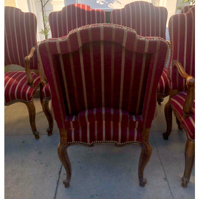 Minton Slidell Regence French Regency Dining Chairs - Set of 6 For Sale In Los Angeles - Image 6 of 9