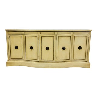 Vintage Regency Style Credenza For Sale