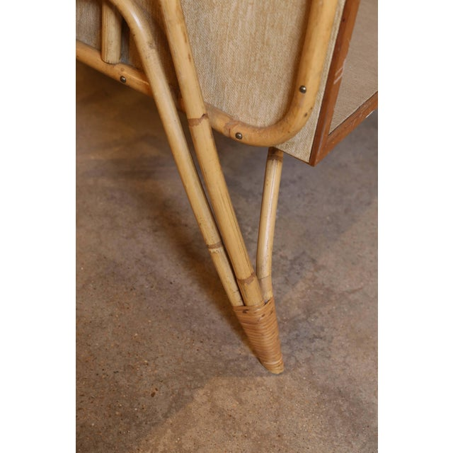 Bamboo Desk and Chair For Sale - Image 4 of 11