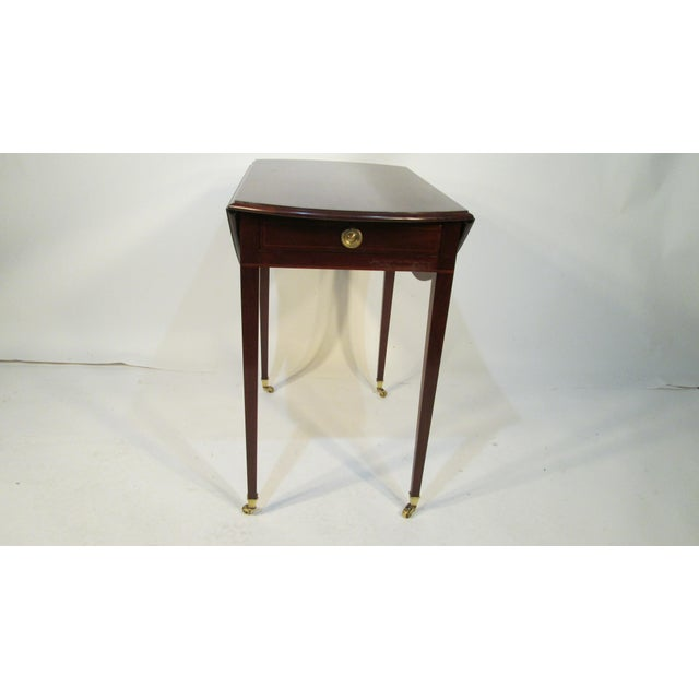 Traditional Beacon Hill Collection Pembroke Table For Sale - Image 12 of 12