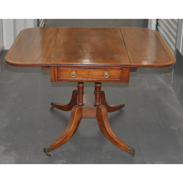 19th Century English Regency Mahogany Breakfast Table C.1815 For Sale In San Francisco - Image 6 of 7
