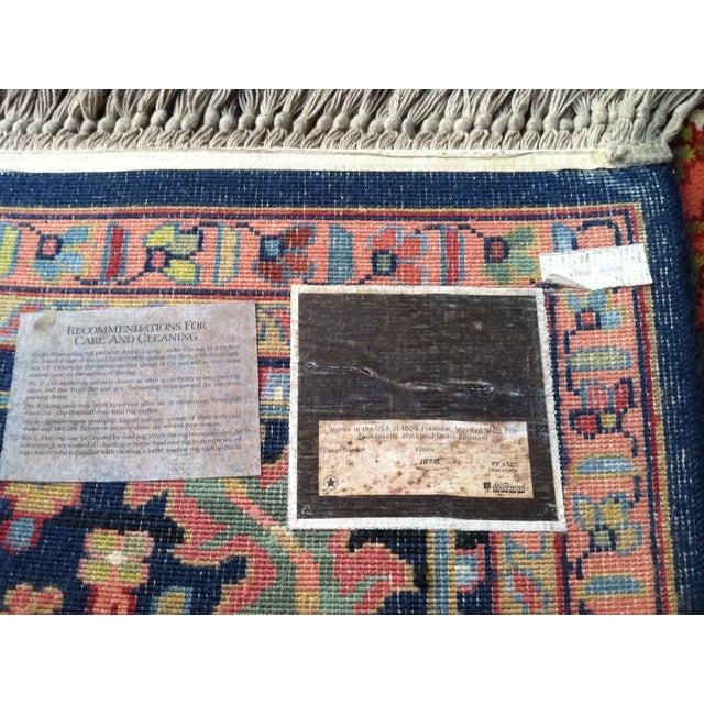 """Oriental Persian Wool Rug - 8'8"""" X 12' - Image 10 of 10"""