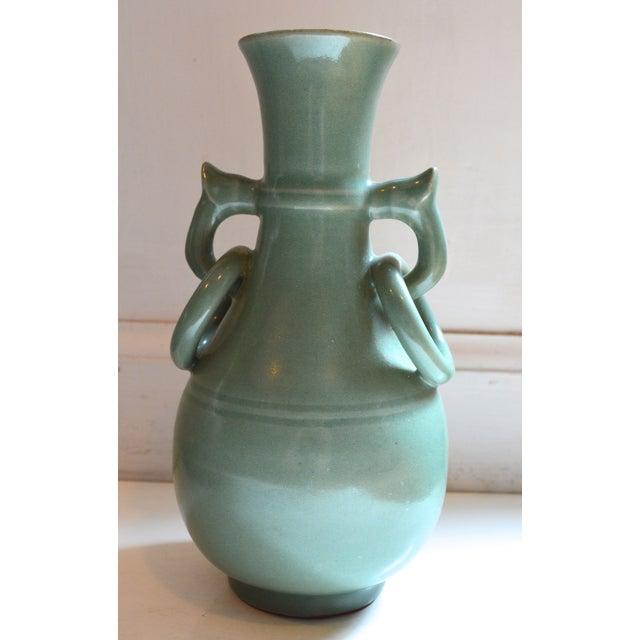 Vintage Asian Glazed Vase/Pot - Image 2 of 6