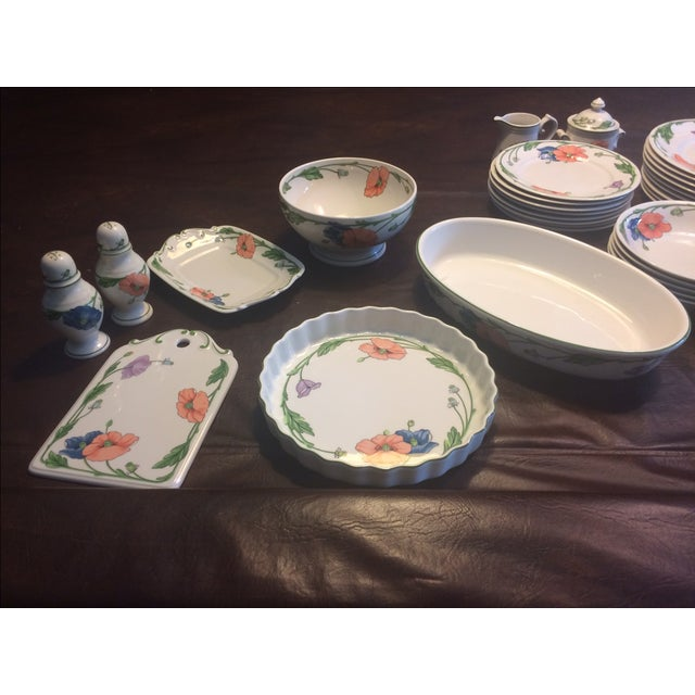 Villeroy & Boch Amapola Dishes - S/88 - Image 10 of 11