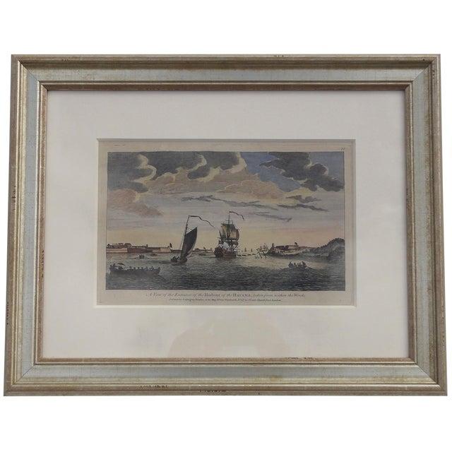 Havana Harbor in Cuba Print For Sale