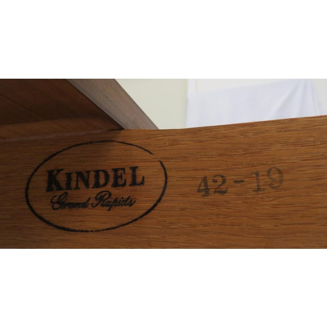 Brown Kindel Furniture Extension Dining Table For Sale - Image 8 of 8