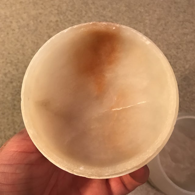 Vintage Alabaster Powder Jar - Image 11 of 11