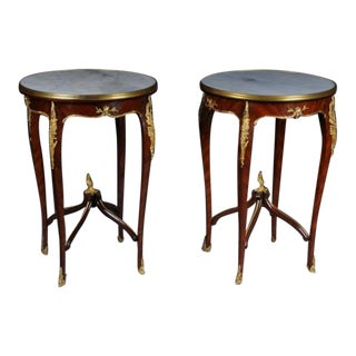 Louis XV Side Tables - a Pair For Sale