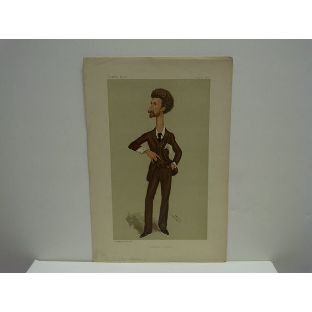 """This is a Vintage -- Vanity Fair Print -- Titled """"Trafalgar Square"""" - Cunningham Graham -- Dated August 25, 1888 -- The..."""