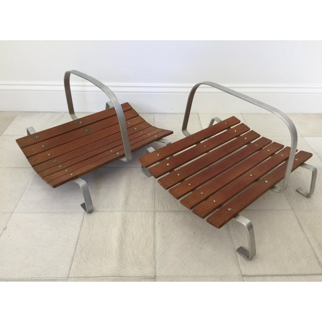 Mid Century Magazine Holders - a Pair For Sale In San Francisco - Image 6 of 6