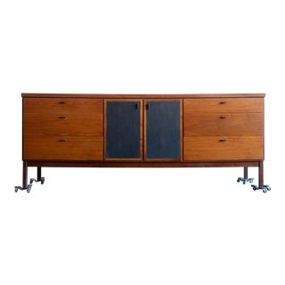 1960s Vintage Jack Cartwright for Founders Teak Credenza For Sale