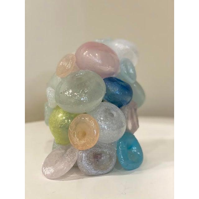 Modern Blown Glass Art Sculpture For Sale - Image 10 of 13