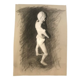 2014 Paul Dinwiddie Standing Figure Drawing For Sale