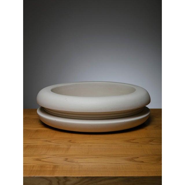 Italian Large Italian 60s Ceramic Bowl For Sale - Image 3 of 3