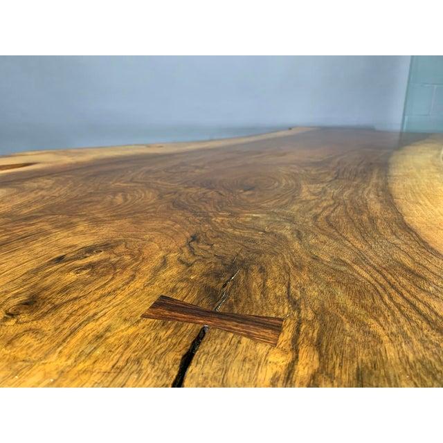George Nakashima Large Conoid Writing Desk For Sale - Image 10 of 13
