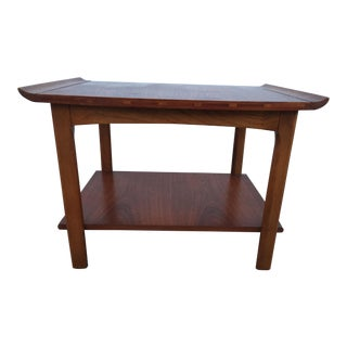 Mid-Century Lane Surfboard End Table For Sale
