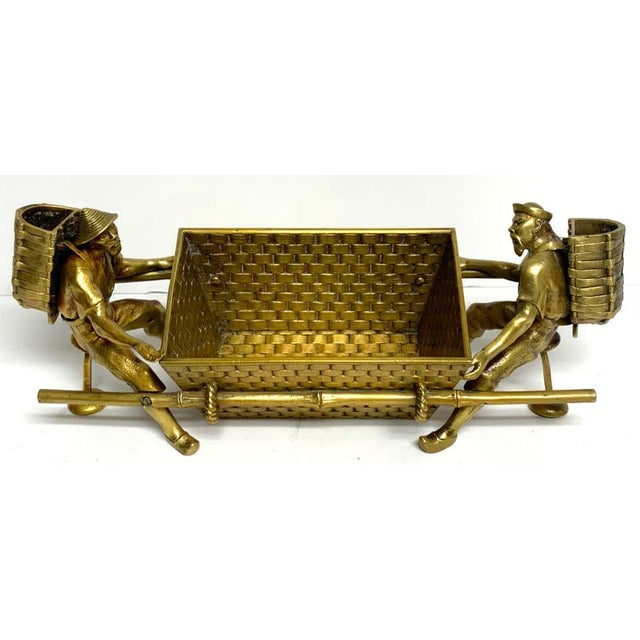 19th Century French Chinoiserie Ormolu Caddy For Sale - Image 12 of 13