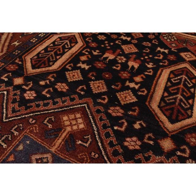Black Vintage Persian Koliai Rug - 4'3'' X 10'1'' For Sale - Image 8 of 13
