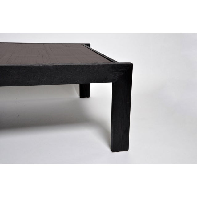 Custom Bamboo Top Coffee Table For Sale In Chicago - Image 6 of 13