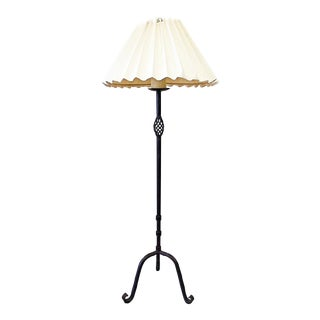 Wrought Iron Floor Lamp by Dana Creath For Sale