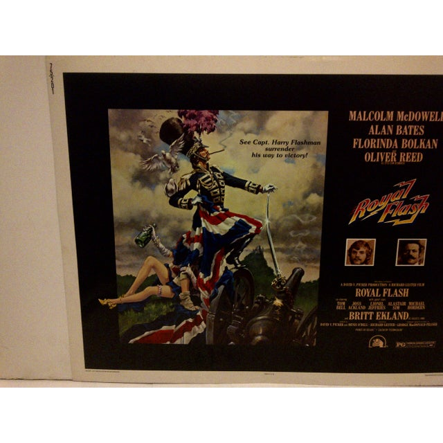 "French Vintage ""Royal Flash"" 1975 Movie Poster For Sale - Image 3 of 5"