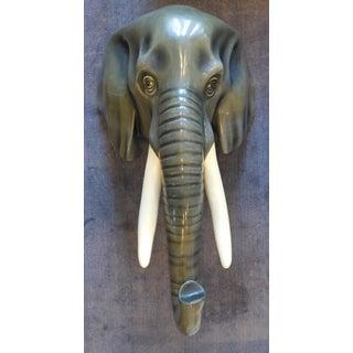 Sergio Bustamante Paper Mache Elephant Head Sculpture Preview