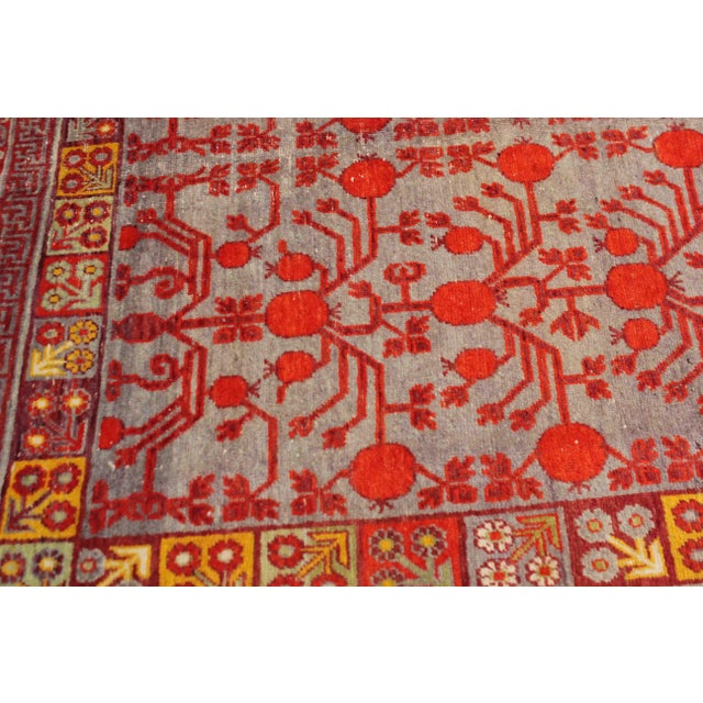 """Early 21st Century Antique Khutan Rug-8'x15'5"""" For Sale - Image 5 of 7"""