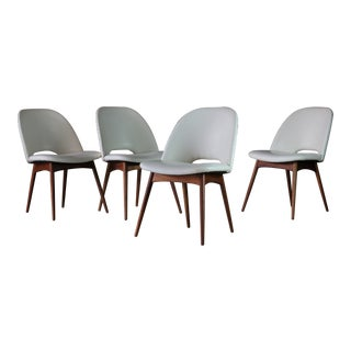Adrian Pearsall Model 1404-C Dining Chairs for Craft Associates (Set of 4) For Sale