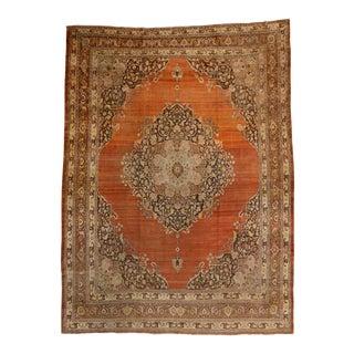 Haji Khalili Antique Persian Tabriz Oversize Rug with Modern Design